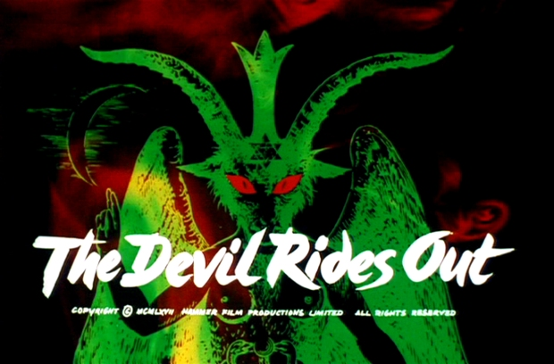 Devil Rides Out Title Card