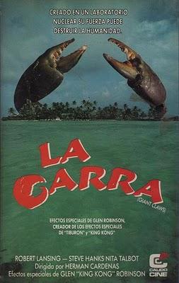 La Garra - Island Claws - Hernan Cardenas - 1980 - Cartel002