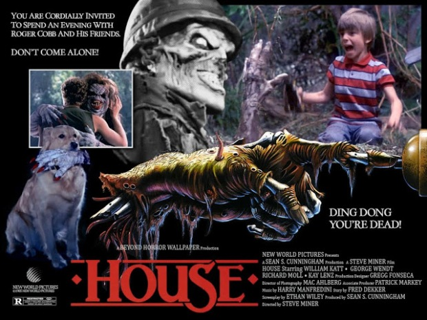 House Una Casa Alucinante AFICHE 01