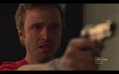 aaron-paul-actor-breaking-bad-crying-gun-jesse-pinkman-Favim.com-102164