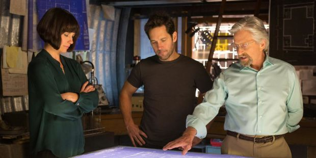 Evangeline-Lilly-Paul-Rudd-and-Michael-Douglas-in-Ant-Man