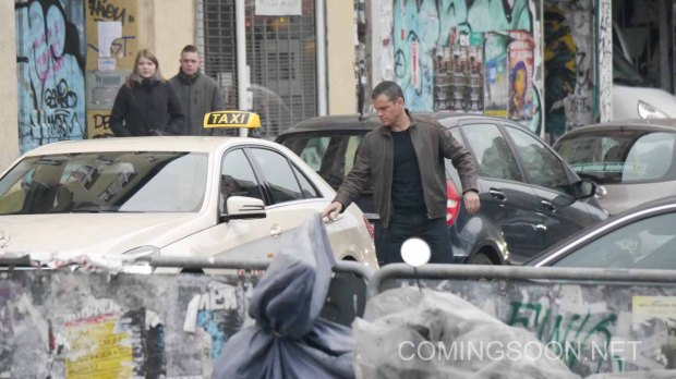 Matt Damon is seen filming Bourne 5 in Berlin Featuring: Matt Damon Where: Berlin, Germany When: 25 Nov 2015 Credit: WENN.com