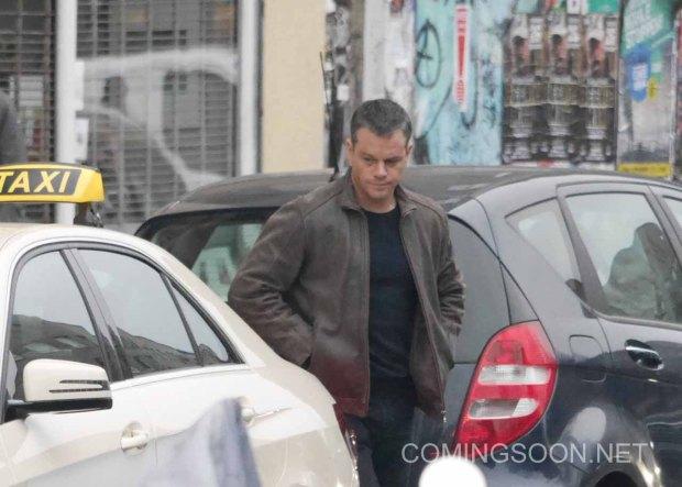 Matt Damon is seen filming Bourne 5 in Berlin Featuring: Matt Damon Where: Berlin, Germany When: 25 Nov 2015 Credit: WENN.com