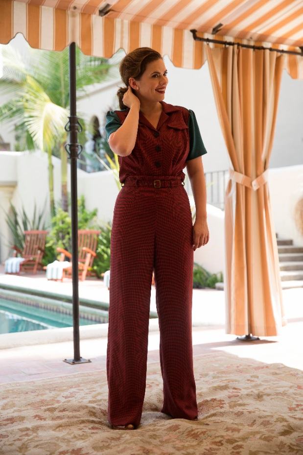 """MARVEL'S AGENT CARTER - """"A View in the Dark"""" - Peggy discovers her murder investigation has huge ramifications that can destroy her career, as well as everyone near and dear to her, on """"Marvel's Agent Carter,"""" TUESDAY, JANUARY 19 (10:00-11:00 p.m. EST) on the ABC Television Network. (ABC/Patrick Wymore) HAYLEY ATWELL"""