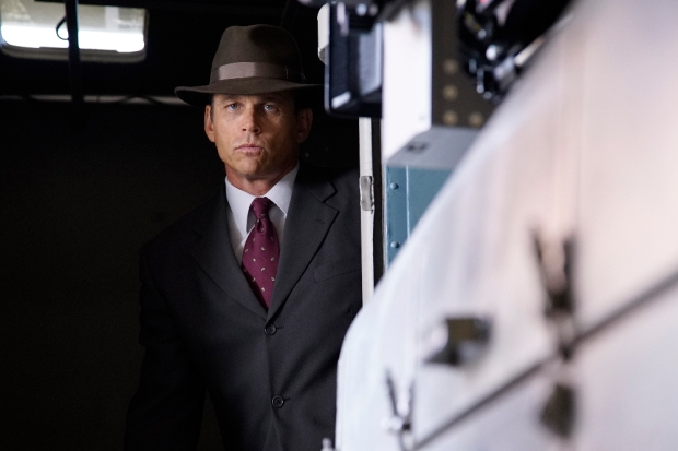 """MARVEL'S AGENT CARTER - """"A View in the Dark"""" - Peggy discovers her murder investigation has huge ramifications that can destroy her career, as well as everyone near and dear to her, on """"Marvel's Agent Carter,"""" TUESDAY, JANUARY 19 (10:00-11:00 p.m. EST) on the ABC Television Network. (ABC/Kelsey McNeal) CHRIS BROWNING"""
