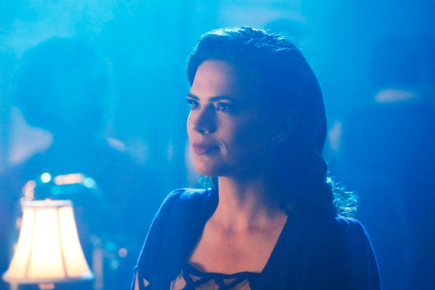 """MARVEL'S AGENT CARTER - """"A View in the Dark"""" - Peggy discovers her murder investigation has huge ramifications that can destroy her career, as well as everyone near and dear to her, on """"Marvel's Agent Carter,"""" TUESDAY, JANUARY 19 (10:00-11:00 p.m. EST) on the ABC Television Network. (ABC/Kelsey McNeal) HAYLEY ATWELL"""