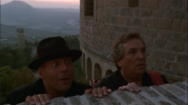 bruce willis at davinci castle